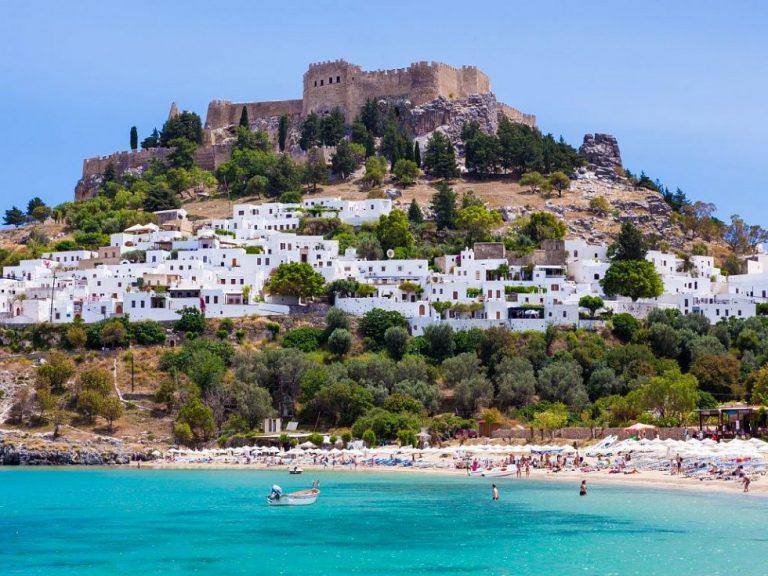 Lindos Beach & Akropolis