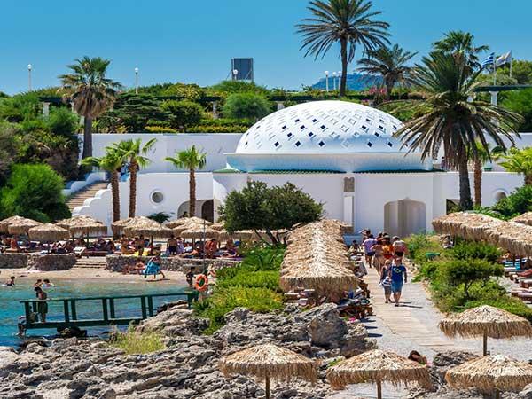 Kalithea beach Rhodes